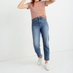 Madewell Classic Straight Jeans in Peralta Wash